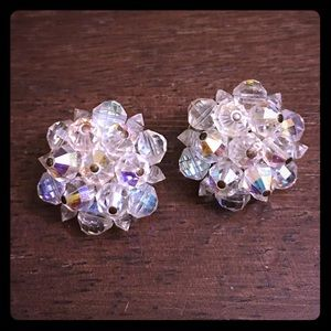 Laguna Crystal Vintage Earrings